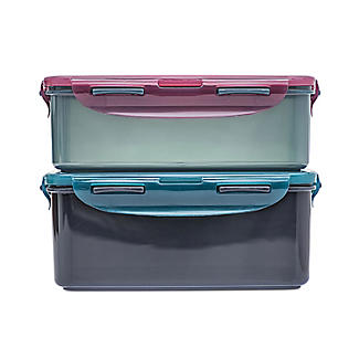 Lock & Lock Eco Square Food Storage Containers – 2-Piece Set