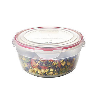 LocknLock Round Nestable Food Storage Containers – 5-Piece Set alt image 2