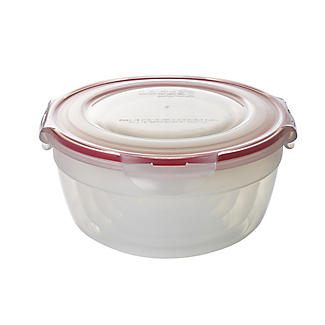 LocknLock Round Nestable Food Storage Containers – 5-Piece Set alt image 3