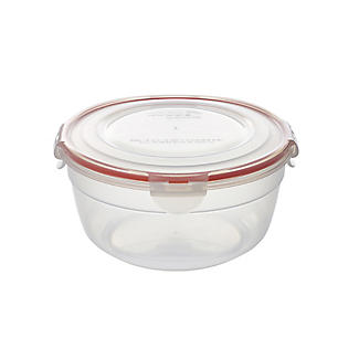 LocknLock Round Nestable Food Storage Containers – 5-Piece Set alt image 5