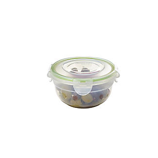 LocknLock Round Nestable Food Storage Containers – 5-Piece Set alt image 9