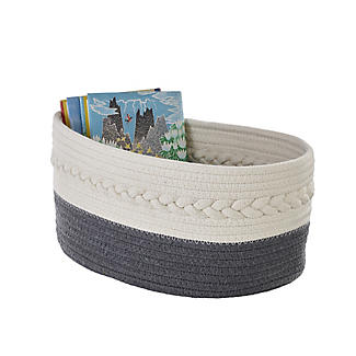 Lakeland Oval Rope Baskets – Pack of 2 alt image 3