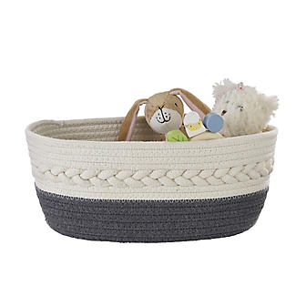 Lakeland Oval Rope Baskets – Pack of 2 alt image 4