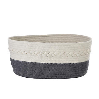 Lakeland Oval Rope Baskets – Pack of 2 alt image 8