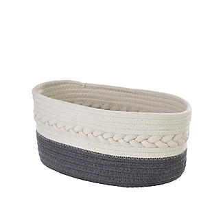 Lakeland Oval Rope Baskets – Pack of 2 alt image 9