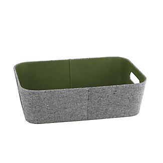 Lakeland 3 Grey & Green Storage Baskets alt image 8