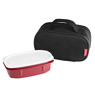 Tatay Urban Mini Lunch Bag with Food Container – Black alt image 4