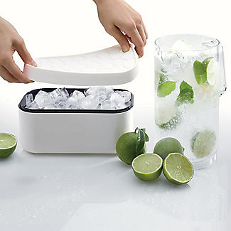 Lékué Ice Cube Box Tray - White alt image 5