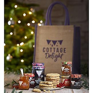 Cottage Delight Traditional Treats Tote Hamper alt image 5