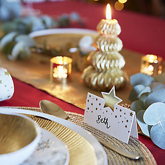 12 Talking Tables Gold Star Place Cards alt image 3