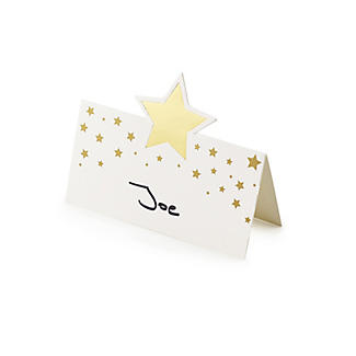 12 Talking Tables Gold Star Place Cards alt image 4