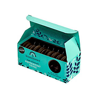 20 Summerdown Peppermint Dark Chocolate Thins 150g alt image 1