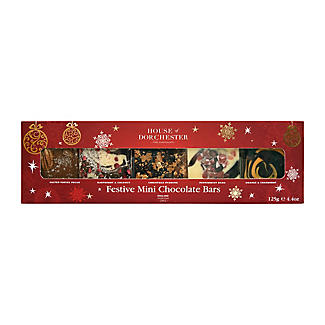 House of Dorchester 5 Mini Topped Chocolate Bars Gift Pack – 5 x 25g