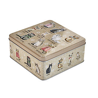 Grandma Wild's Cats in Jumpers Biscuit Tin – 160g alt image 5