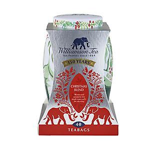 Williamson Tea Christmas Blend Tea in Elephant Caddy – 40 Tea Bags alt image 3