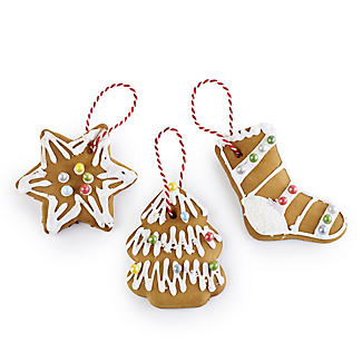 Decorate Your Own Gingerbread Ornaments 450g alt image 2
