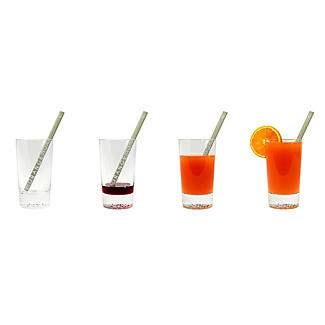 6 Cocktail Stirrers with Recipes alt image 2