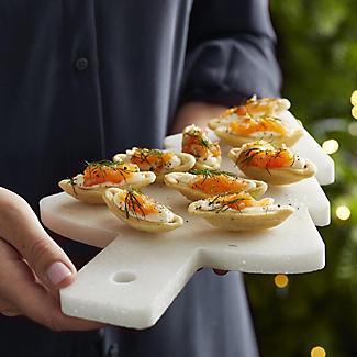 Lakeland Marble Christmas Tree Serving Platter alt image 2