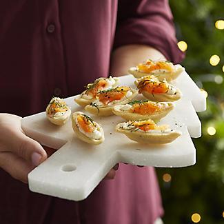 Lakeland Marble Christmas Tree Serving Platter alt image 5