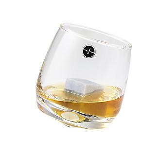 2 Rocking Tumblers with Whisky Stones Gift Set alt image 2
