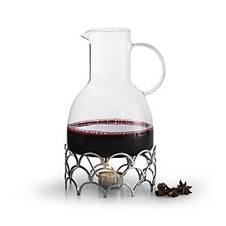 Brandy and Mulled Wine Warmer Gift Set 1.3L