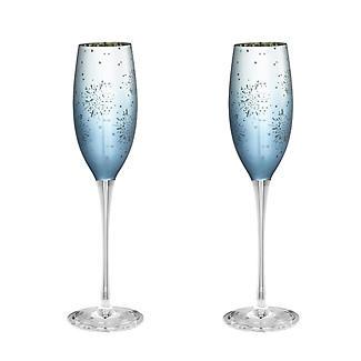 2 Aurora Champagne Flutes - 250ml