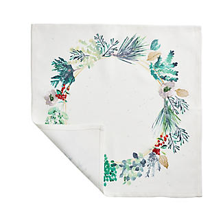 2 Lakeland Evergreen Traditional Christmas Place Mats