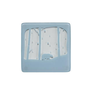 4 Polar Bear Glass Coasters alt image 2