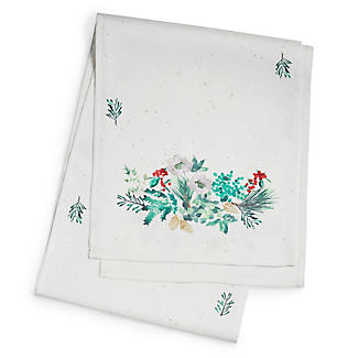 Lakeland Evergreen Traditional Christmas Table Runner