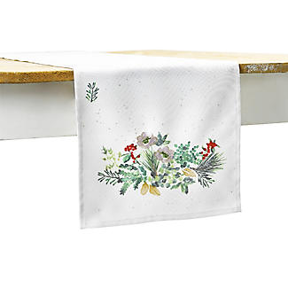 Lakeland Evergreen Traditional Christmas Table Runner alt image 5