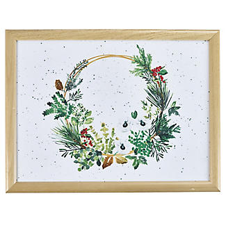 Lakeland Evergreen Traditional Christmas Lap Tray alt image 2