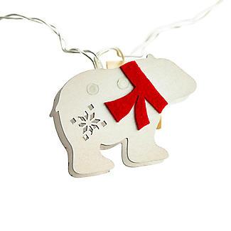 1.8m Polar Bear Christmas LED Light String  alt image 5