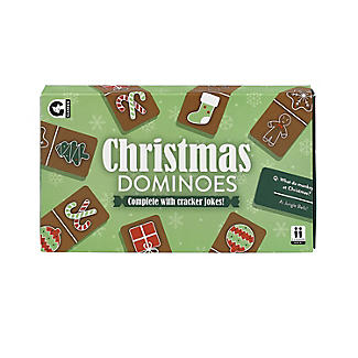 Christmas Dominoes with Jokes Table Game