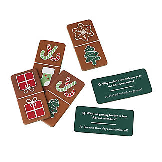 Christmas Dominoes with Jokes Table Game alt image 3