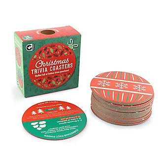 Christmas Trivia Coasters Table Game