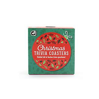 Christmas Trivia Coasters Table Game alt image 3