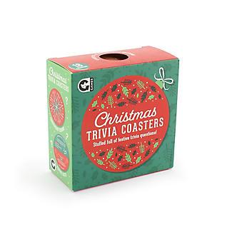Christmas Trivia Coasters Table Game alt image 4