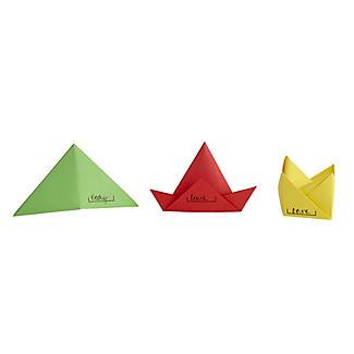Origami Festive Hats Place Cards alt image 3