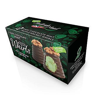 2 Dark Chocolate Mint Truffle Walnut Whirls  alt image 2