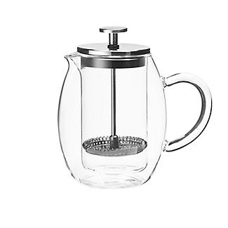 Lakeland Double-Walled Glass Cafetière 3-Cup 350ml