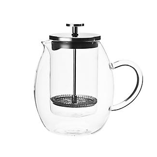 Lakeland Double Walled Glass Cafetière 6-Cup 600ml