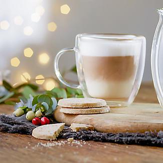 2 Lakeland Double-Walled Glass Coffee Mugs 180ml alt image 2