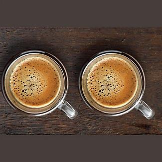 2 Lakeland Double-Walled Glass Coffee Mugs 180ml alt image 3