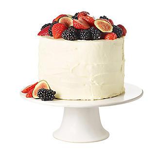 Lakeland White Cake Stand 25cm Dia.