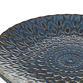 Lakeland Blue Patterned Side Plate 20.5cm Dia. alt image 3