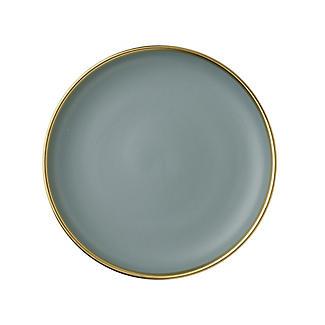 Lakeland Gold-Rimmed Blue Dinner Plate 26cm Dia. alt image 3