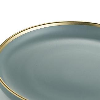 Lakeland Gold-Rimmed Blue Dinner Plate 26cm Dia. alt image 4