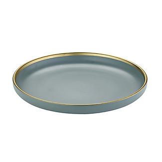 Lakeland Gold-Rimmed Blue Dinner Plate 26cm Dia. alt image 5