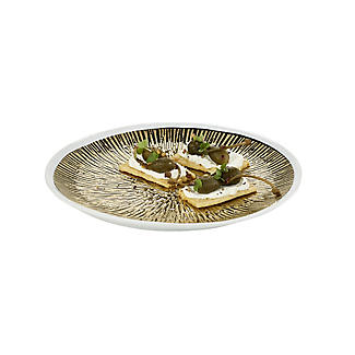 Lakeland Gold Textured Plate - 27.5cm Dia.