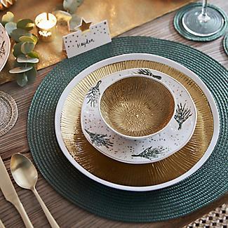 2 Lakeland Gold Textured Bowls alt image 5